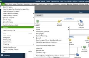 quickbooks file doctor buil in version
